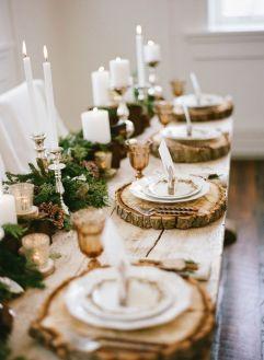 Source: http://www.elizabethannedesigns.com/blog/2014/02/03/elegant-rustic-winter-wedding-inspiration/