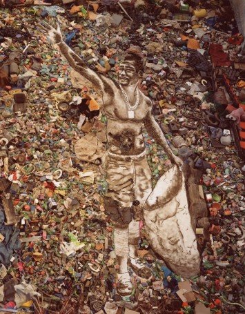 The shower (Zumbi) – Vik Muniz (2008)