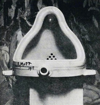 Fountain, Marcel Duchamp (1917)