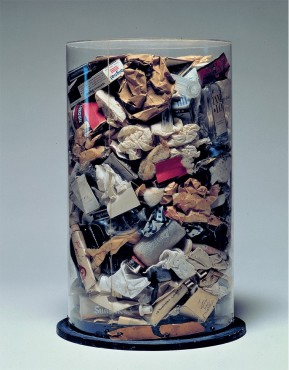 Jim Dine's Dustbin – Arman (1961)