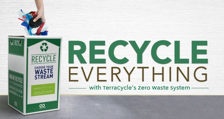 What is a Zero Waste Box and how is it different to the Free Recycling Programmes?