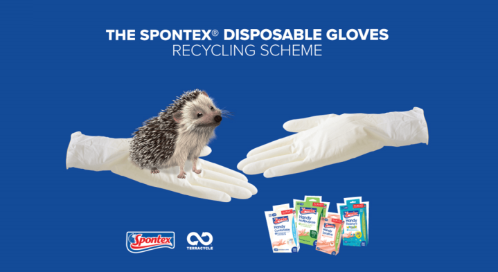 Our Recycling Solution for Disposable Gloves, sponsored by Spontex®